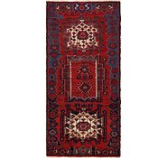 Link to 4' 8 x 10' Hamedan Persian Runner Rug