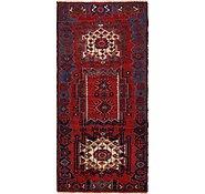 Link to 4' 8 x 10' Hamedan Persian Runner Rug