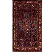 Link to 4' 10 x 9' Hamedan Persian Rug
