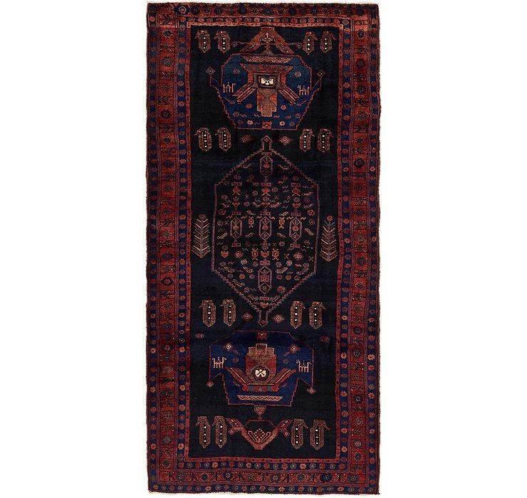 4' 6 x 9' 8 Sirjan Persian Runner Rug
