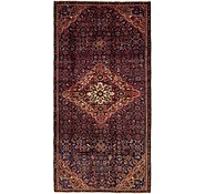 Link to 4' 5 x 9' Hossainabad Persian Runner Rug