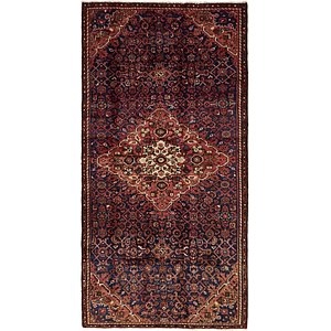 Unique Loom 4' 5 x 9' Hossainabad Persian Run...