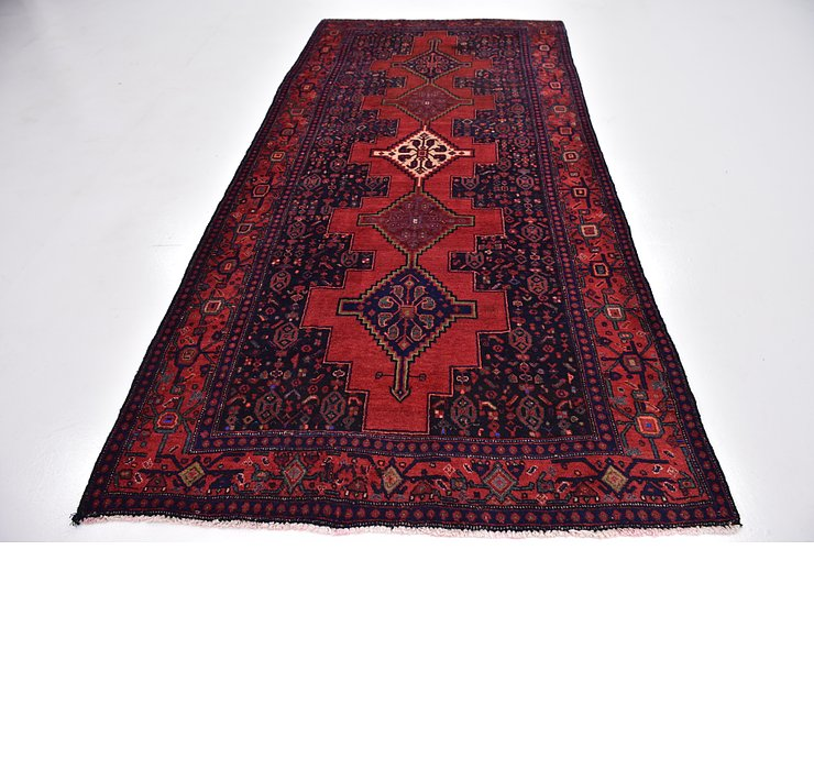 5' x 9' 10 Sanandaj Persian Runner...
