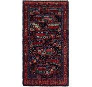 Link to 4' 10 x 9' Meshkin Persian Rug