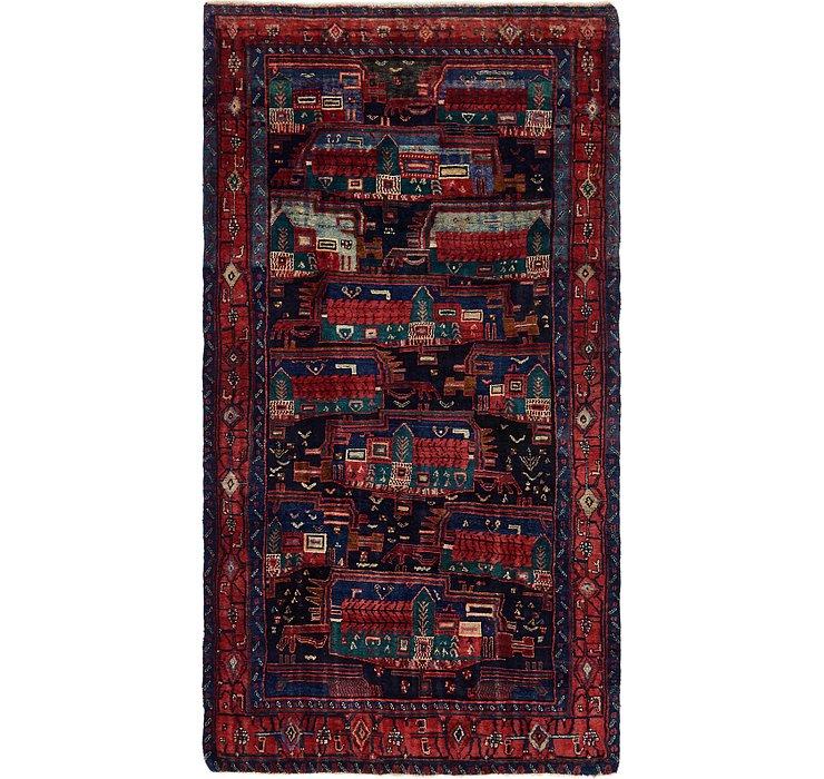 4' 10 x 9' Meshkin Persian Rug