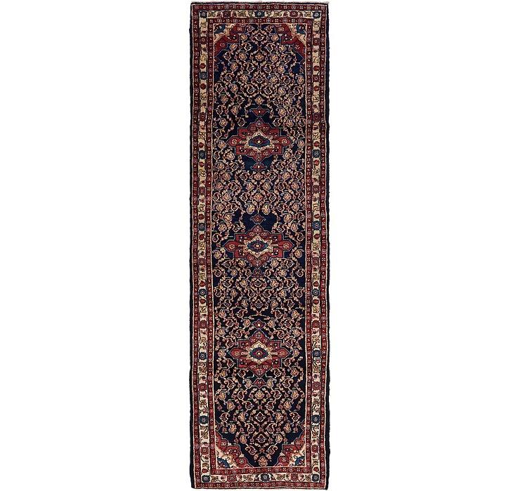 100cm x 390cm Mahal Persian Runner Rug
