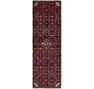 Link to 2' 10 x 10' Hossainabad Persian Runner Rug