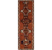 Link to 3' 10 x 12' Shiraz Persian Runner Rug