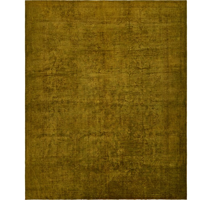 12' 9 x 15' 7 Over-Dyed Ziegler Rug