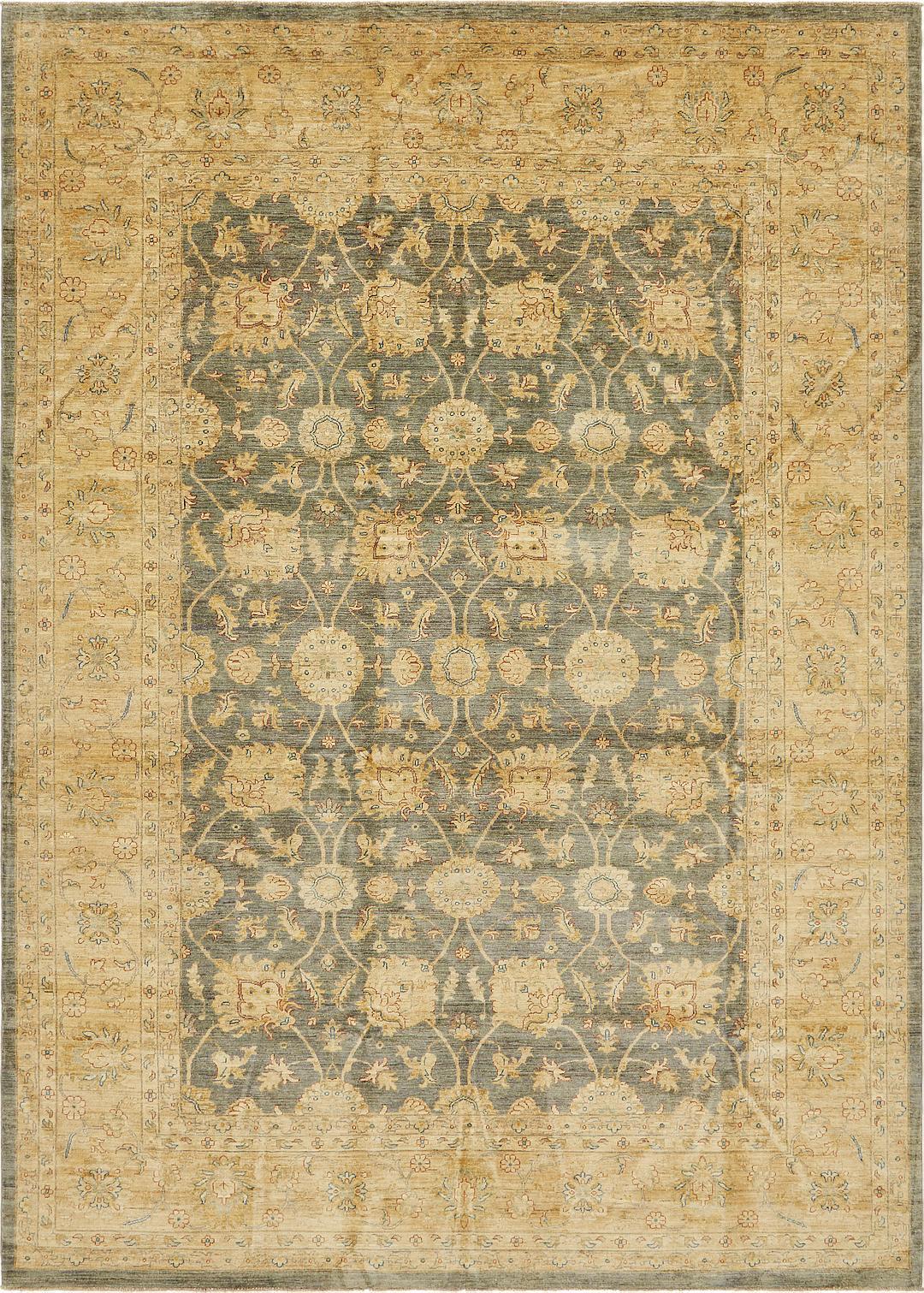 Gray 10 X 14 2 Peshawar Ziegler Rug Oriental Rugs