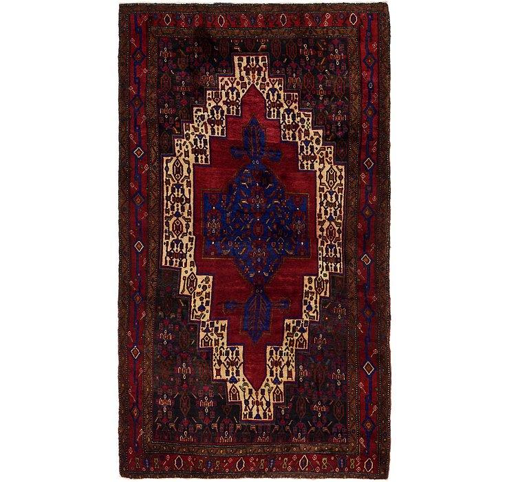 5' 4 x 9' 9 Sanandaj Persian Rug