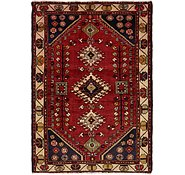 Link to 4' 3 x 6' 4 Hamedan Persian Rug