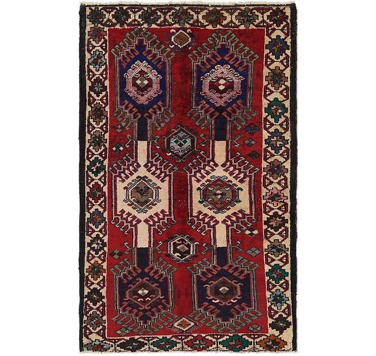4' x 6' 5 Ghoochan Persian Rug