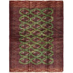 Unique Loom 4' 2 x 5' 8 Torkaman Persian Rug