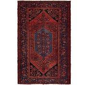Link to 4' 6 x 7' 2 Hamedan Persian Rug
