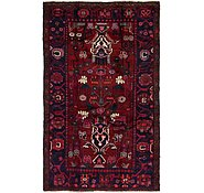 Link to 4' 7 x 7' 5 Hamedan Persian Rug