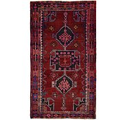 Link to 4' 9 x 8' 7 Hamedan Persian Runner Rug