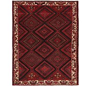 Link to 6' x 7' 8 Hamedan Persian Square Rug