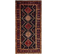 Link to 4' 10 x 10' Chenar Persian Runner Rug