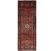 Link to 3' 10 x 11' Hossainabad Persian Runner Rug