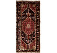 Link to 4' 8 x 11' Hamedan Persian Runner Rug