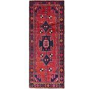 Link to 3' 9 x 9' 9 Hamedan Persian Runner Rug