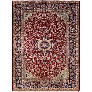 10' 3 x 13' 8 Isfahan Persian Rug