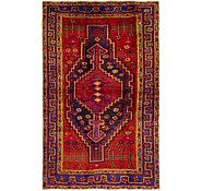 Link to 4' 7 x 7' 4 Hamedan Persian Rug