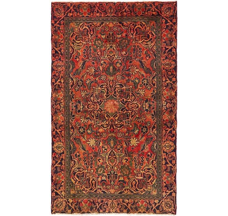 3' 9 x 6' 5 Hamedan Persian Rug