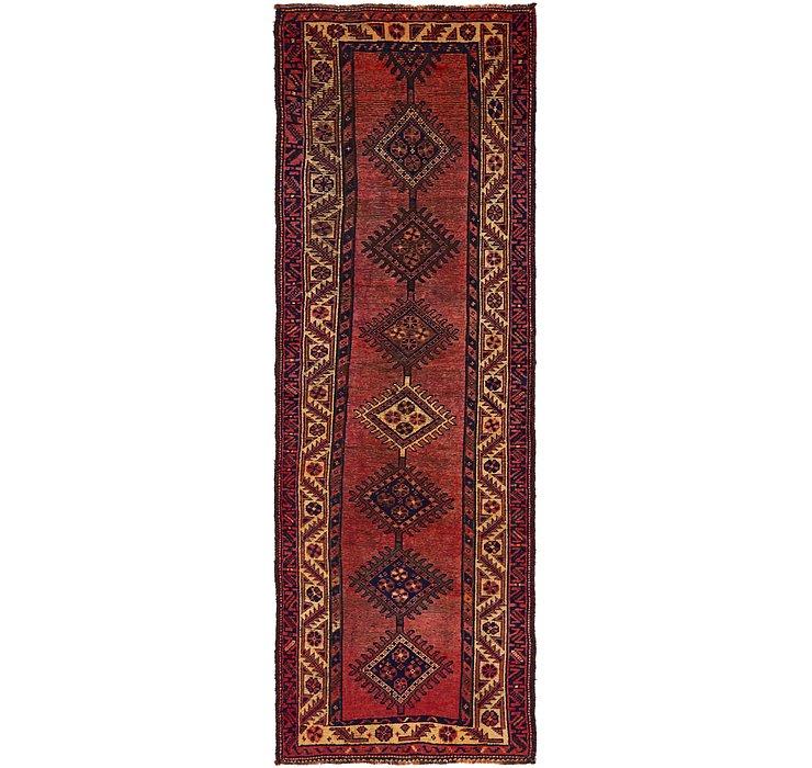 3' 8 x 10' 10 Shiraz Persian Runner Rug