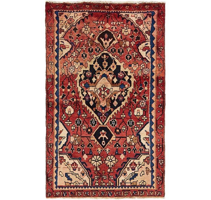 3' 3 x 5' 6 Hamedan Persian Rug