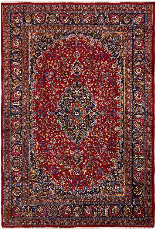 Red 8 X 11 10 Mashad Persian Rug Persian Rugs Irugs Uk