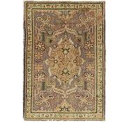 Link to 3' 4 x 4' 10 Tabriz Persian Rug