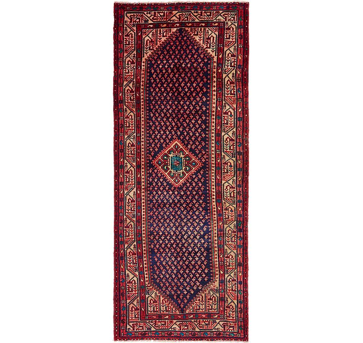 HandKnotted 3' 6 x 9' 9 Mahal Persian Runner Rug
