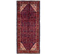 Link to 3' 7 x 8' Hossainabad Persian Runner Rug