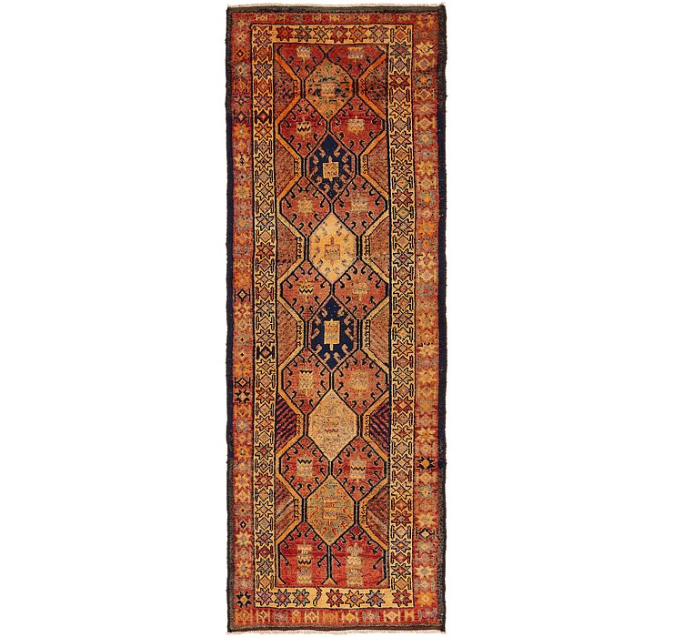 122cm x 365cm Shiraz Persian Runner Rug