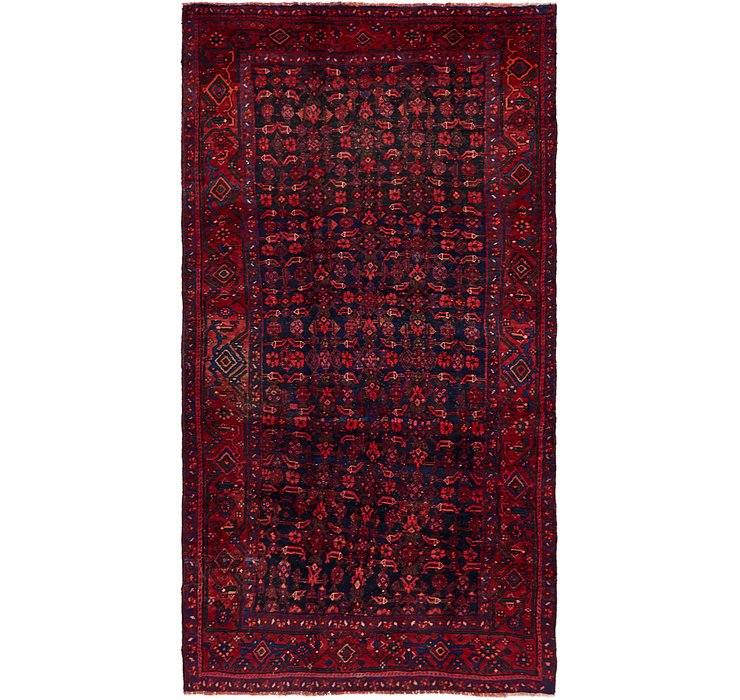 HandKnotted 5' 5 x 10' Shiraz Persian Rug