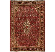Link to 4' 5 x 6' 8 Hossainabad Persian Rug