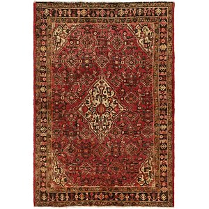 Unique Loom 4' 5 x 6' 8 Hossainabad Persian Rug