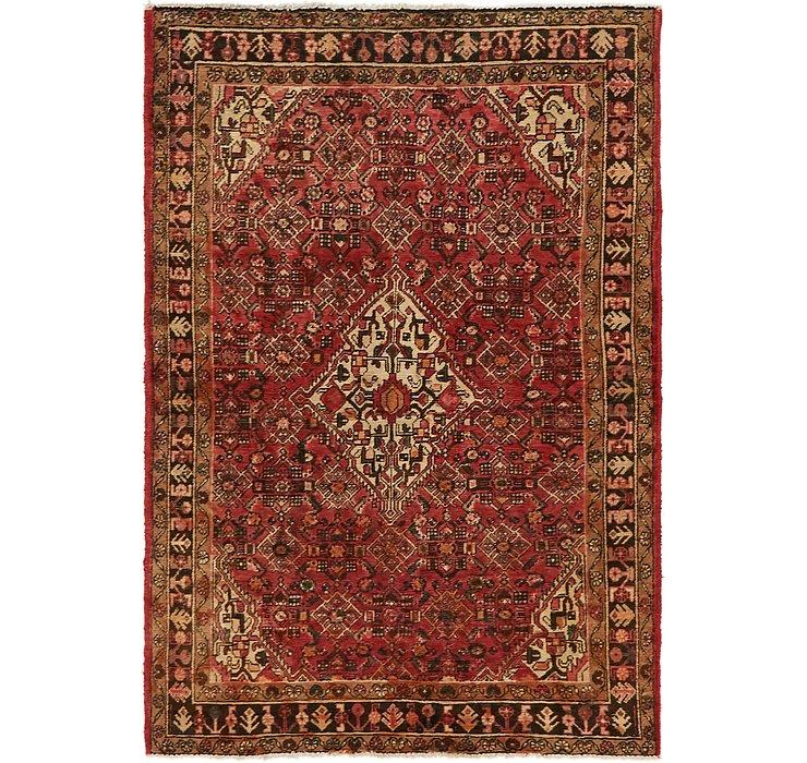 4' 5 x 6' 8 Hossainabad Persian Rug