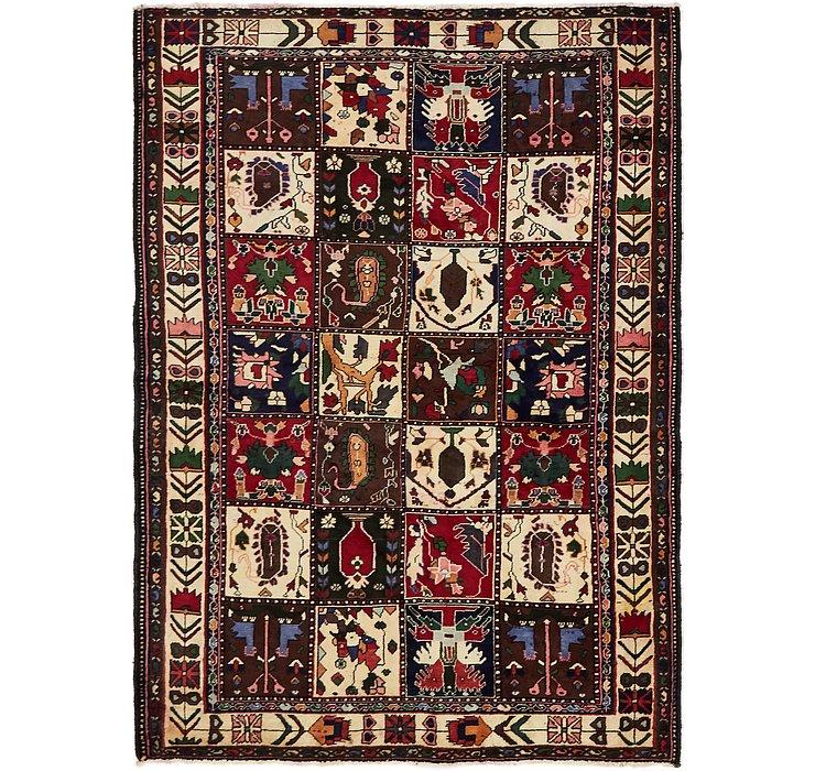 4' 10 x 6' 9 Bakhtiar Persian Rug