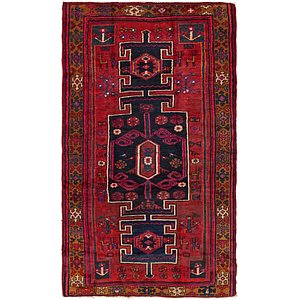 Unique Loom 5' 3 x 9' Shiraz Persian Rug