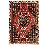 Link to 4' 3 x 6' 4 Mazlaghan Persian Rug