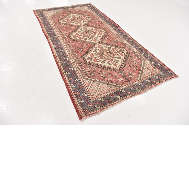 5' x 9' 9 Shiraz Persian Runner Rug