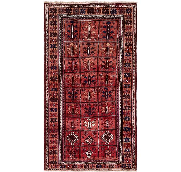 5' 4 x 10' Ghashghaei Persian Rug