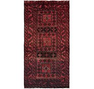 Link to 3' 9 x 7' 4 Balouch Persian Rug