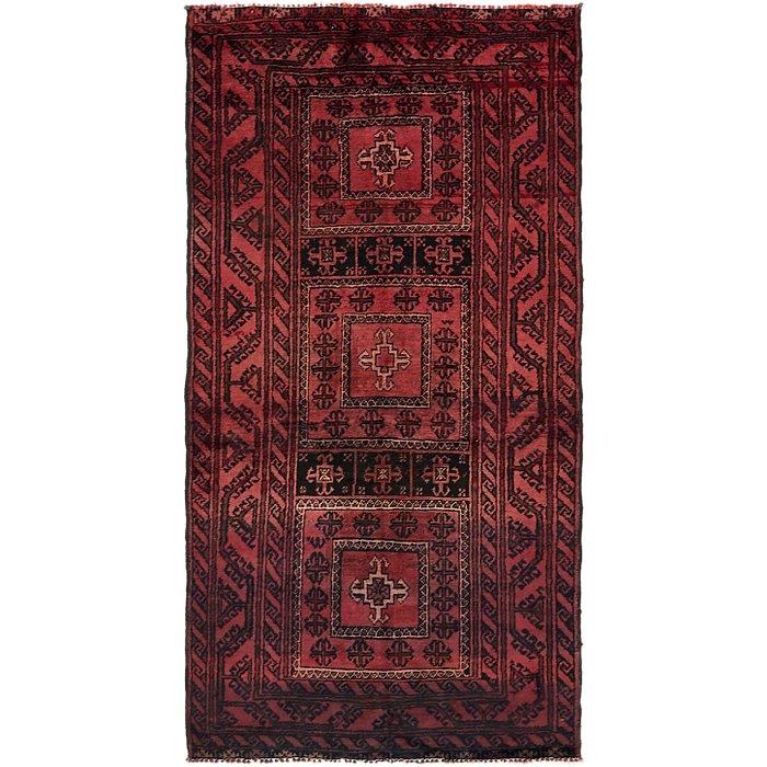3' 9 x 7' 4 Balouch Persian Rug