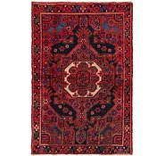 Link to 4' 5 x 6' 7 Hamedan Persian Rug