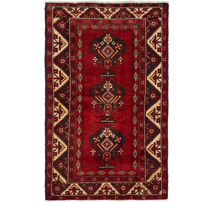 4' x 6' 6 Ghashghaei Persian Rug