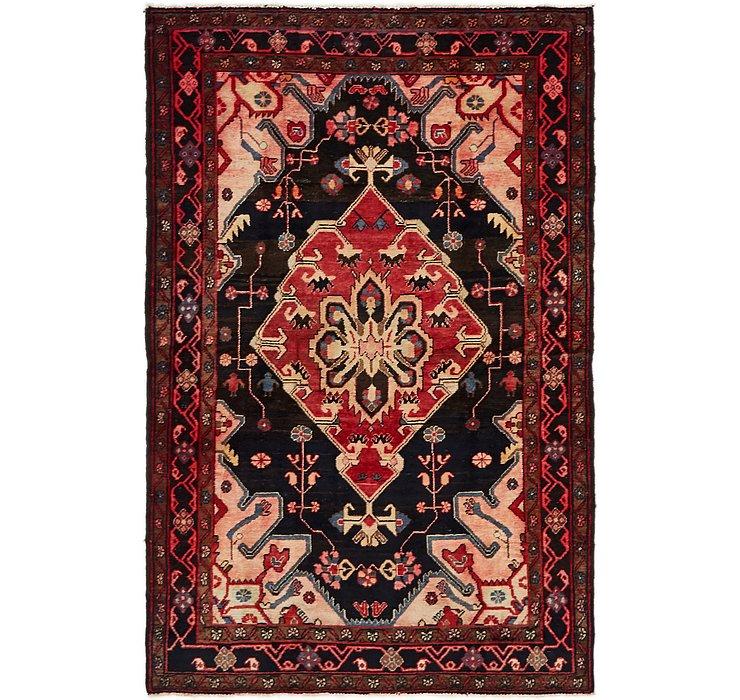4' 3 x 6' 5 Hamedan Persian Rug